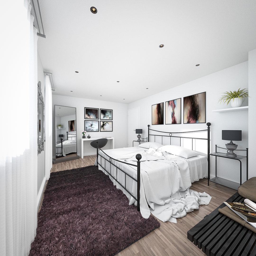 Architekturvisualisierung_raumformat-gmbh_Schlafzimmer