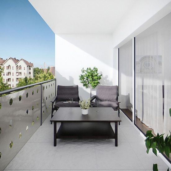 Visualisierung realbrokers - Pottendorf - Balkon
