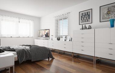 Architekturvisualisierung Junghaus 2017 - Schlafzimmer