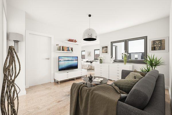 STH Living - Innen-Visualisierung Wohnzimmer