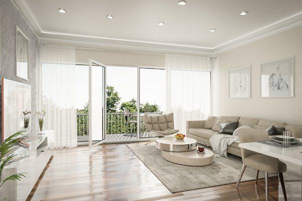 Schantl ITH Innenraumvisualisierung Wohnzimmer