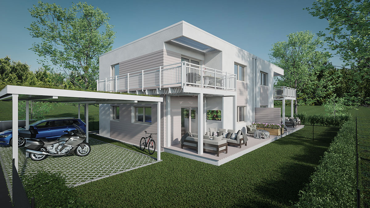 Vario Haus jeromedia projekt variohaus biedermannsdorf kunde vario bau