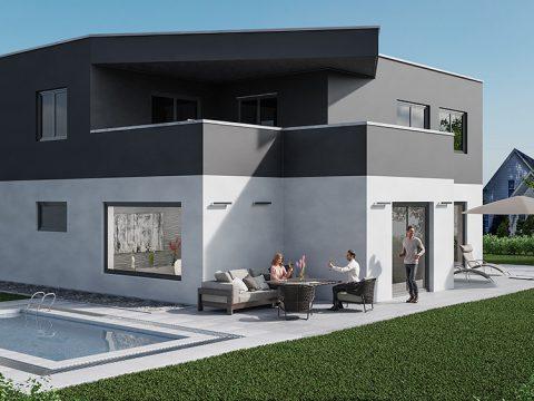 Projekt Einfamilienhaus / Kunde: HOME