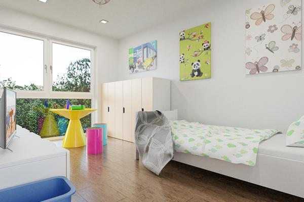 Visualisierung_KubicekEssling_Projekt_ELK_Helmahof_Kinderzimmer