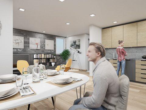 Projekt: Kleingartenhaus | Kunde: Valentin Massivbau GmbH